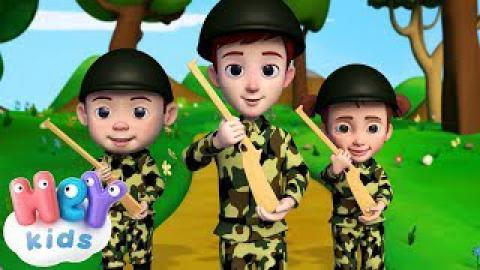 Детски Песнички - Ние сме Войници