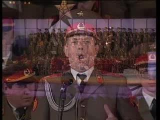 Хор на Червената Армия - Очи черные